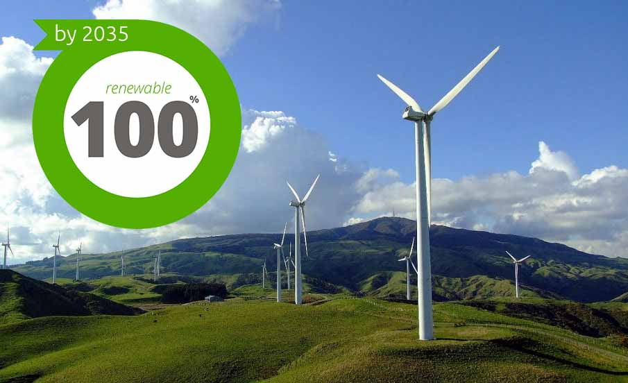 New Zealand to Become the World's Leader in Renewable Energy