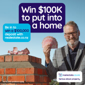 Win $100k towards your home purchase with Broadband Compare's good mates from realestate.co.nz