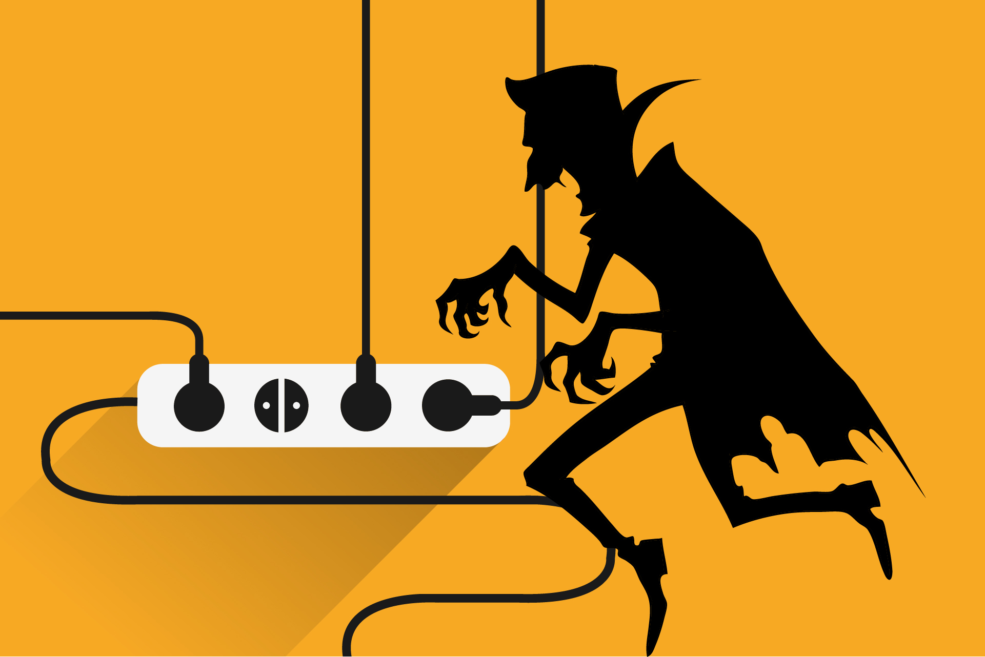 Vampire Power, learn how to stop is increasing your power bills with Power Compare!